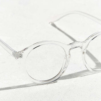 UO Plastic Round Readers - Urban Outfitters
