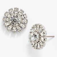 kate spade new york 'estate garden' crystal stud earrings