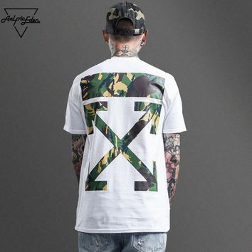ca qiyif Off White Camouflage Arrow Rep Tee