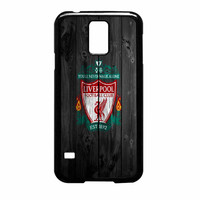 Liverpool FC Wood Style Samsung Galaxy S5 Case