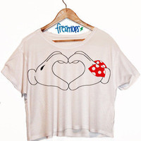 Mickey Heart | fresh-tops.com
