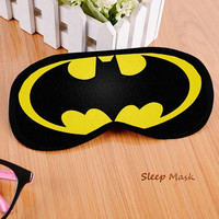 Batman Custom Sleeping Eye Mask , Sleep Mask