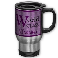 World Class Teacher You're Great! Mug from Zazzle.com