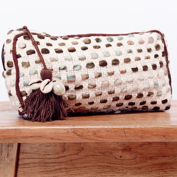 Seashell Makeup Bag