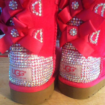 Toddler size, Pink Bailey Bows.. Custom Bling!!!