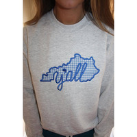 Kentucky Y'all Crewneck Sweatshirt