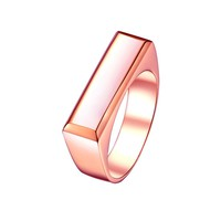 Mister Bar Ring - Rose Gold