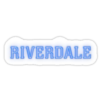 'Riverdale logo' Sticker by molly34
