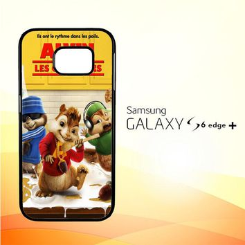 alvin and the chipmunks Y0710 Samsung Galaxy S6 Edge Plus Case