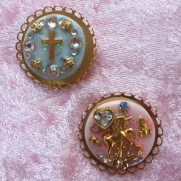 Kawaii Pastel Brooches