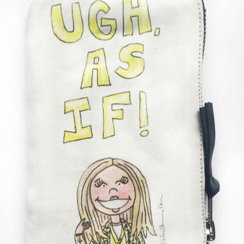 Clueless Quote Coin Purse