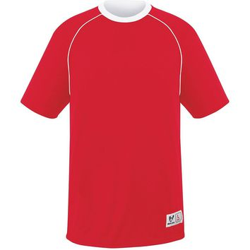 High Five 22901?Youth Conversion Reversible Jersey - Scarlet White