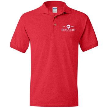 RESCUERS CLUB OFFICIAL EMBROIDERED POLO SHIRT
