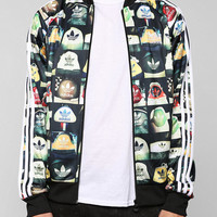 adidas Print Superstar Zip-Up Sweatshirt  - Urban Outfitters