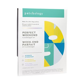 PATCHOLOGY FLASHMASQUE® 5 MINUTE SHEET MASKS: PERFECT WEEKEND TRIO