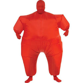 Costume Morphsuit: Inflatable Skin Suit - Red