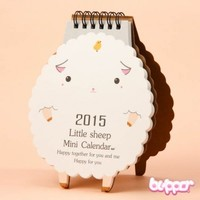 Sheep 2015 Desk Calendar