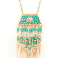 ModCloth Boho Points of View Necklace