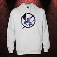 Galaxy Mockingjay_Hunger Games Hoodie_Unisex Adults Size