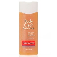 Body Clear Body Scrub, Salicylic Acid Acne Treatment