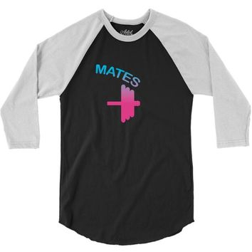 Swole Mates Couple Design 3/4 Sleeve Shirt