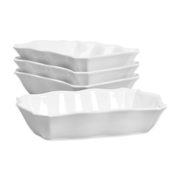 Tabletops Unlimited® Denmark Tools for Cooks® Oven to Table Scalloped Bakers (Set of 4)