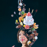 Sweet hat for Tokyo Sweets Collection|World|chinadaily.com.cn