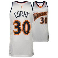 Autographed Golden State Warriors Stephen Curry Fanatics Authentic White Mitchell & Ness Authentic 2009-2010 Throwback Jersey
