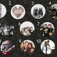 Fall Out Boy Buttons