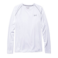 Men's UA Tech™ Long Sleeve T-Shirt in White by Under Armour