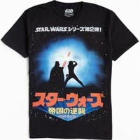Star Wars Jedi Fight Tee - Black M at Urban Outfitters