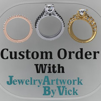 Custom Order With JewelryArtWorkByVick Start Your Customer Order