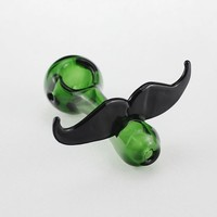 Glass pipes glass mustache pipes mini bong hand pipes spoon pipes