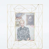 Geometric Gold Frame - Urban Outfitters