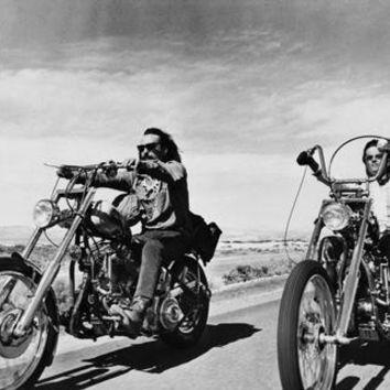 "Easy Rider Poster BW Choppers 16""x24"""