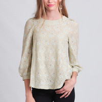 Tea And Crumpets Lace Blouse