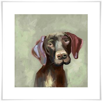Best Friend - German Short-Haired Pointer Wall Art