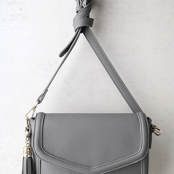 Perfect Grade Grey Purse