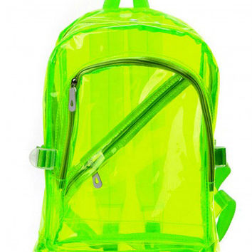 Neon Jelly Beach Backpack