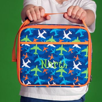 Take Flight Monogrammed Lunch Box