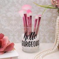 Makeup Organizer, Makeup Brush Holder, Brush Holder, Desk Organizer, Pen Holder, Pencil Holder - Hello Gorgeous