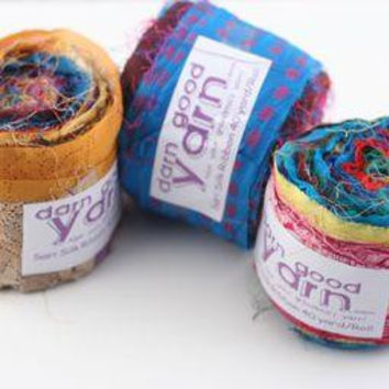 Sari Ribbon Silk Rolls