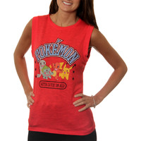 "Pokemon Juniors ""Gotta Catch 'Em All"" Muscle Tank"