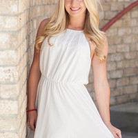 White Summer Bliss Dress