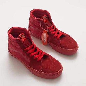 Vans Sk8-Hi Burgundy/Red High-top Sneaker