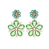 dolce & gabbana - embellished clip-on earrings