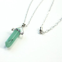 Adventurine Gemstone Necklace