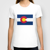 Colorado State Flag - Authentic version T-shirt by LonestarDesigns2020 - Flags Designs +