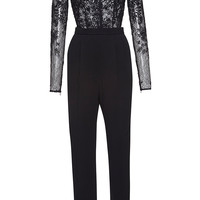 Thread Embroidered Cady Jumpsuit | Moda Operandi
