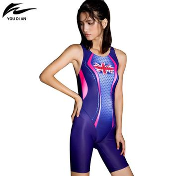ade9e4c3998 Swimsuits competitive swimming suits girls racing swimwear women competitive  Sharkskin swim suit competition swimsuit knee NEW